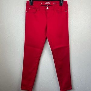 Celebrity Pink Red Jeans Size 11 EUC